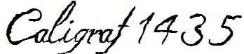 Caligraf-1435-Italic