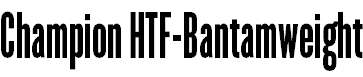 Champion-HTF-Bantamweight