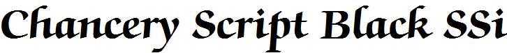 Chancery-Script-Black-SSi-Bold