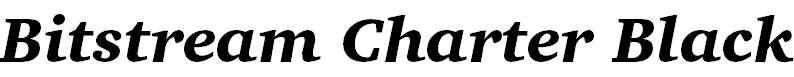 CharterBT-BlackItalic