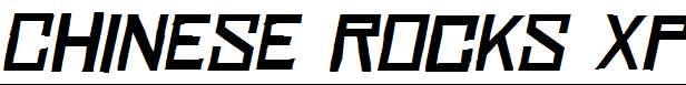 Chinese-Rocks-Xp-Italic