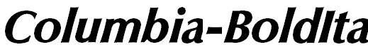 Columbia-BoldIta
