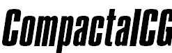 CompactaICG-Italic