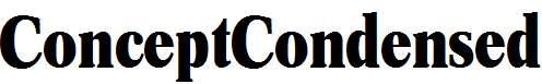 ConceptCondensed-Bold