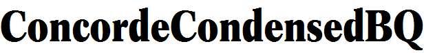 Concorde-R-Bold-Condensed