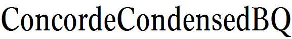 Concorde-R-Condensed