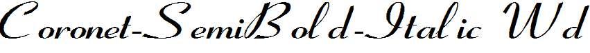 Coronet-SemiBold-Italic-Wd