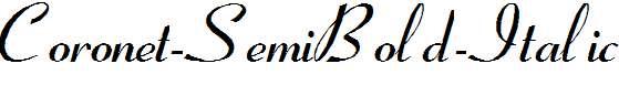 Coronet-SemiBold-Italic-copy-4-