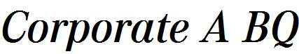 Corporate-A-Medium-Italic
