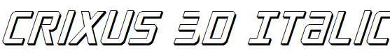 Crixus-3D-Italic