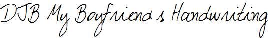 DJB-My-Boyfriend-s-Handwriting