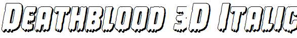 Deathblood-3D-Italic