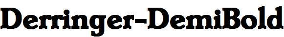 Derringer-DemiBold