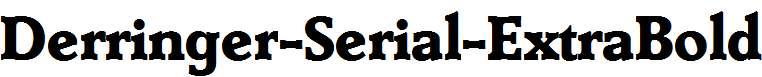 Derringer-Serial-ExtraBold-Regular