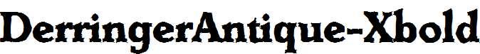 DerringerAntique-Xbold-Regular