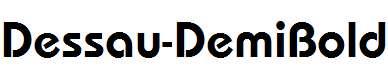 Dessau-DemiBold-Regular