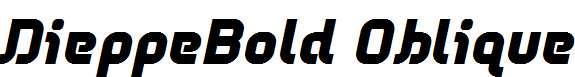 DieppeBold-Oblique