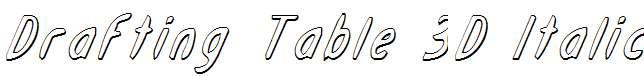Drafting-Table-3D-Italic