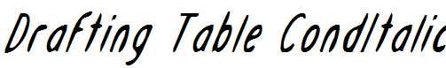 Drafting-Table-CondItalic