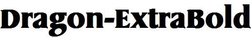 Dragon-ExtraBold
