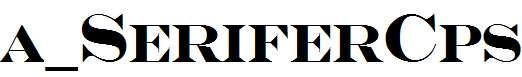 a_SeriferCps-Bold