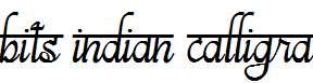 bits-indian-calligra-Regular